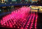 Fountains Lit by LEDs